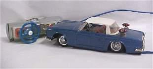 1960s Bandai Triumph TR4 toy car