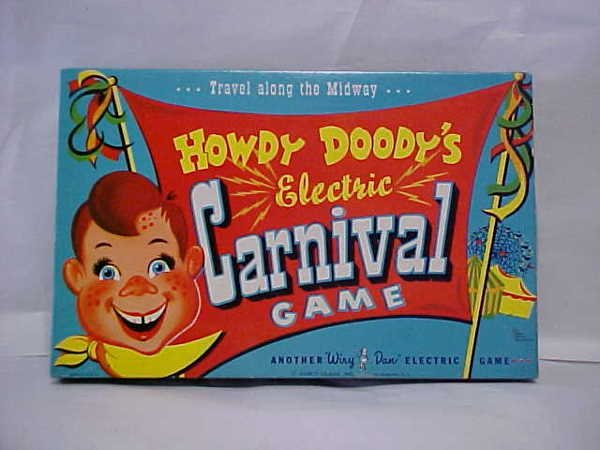 1424: Howdy Doody complete carnival game