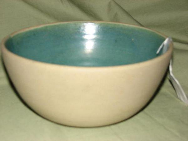 7: W.J. Gordy bowl w/inside glaze.