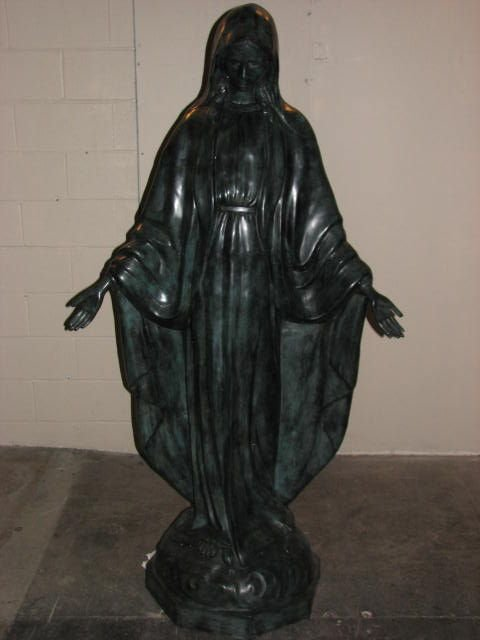 503: Bronze statue of Mary