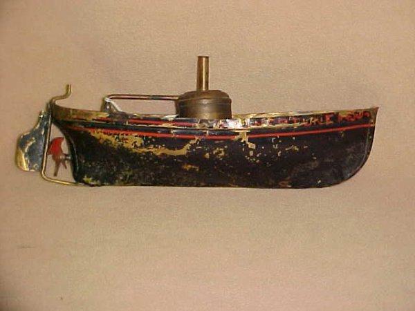 2: Neptune Live Steam boat tin litho original