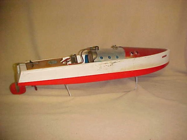 "10: Bowman Models ""Swallow"" Live steam boat original"