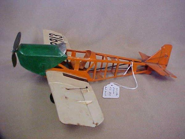 14: Tin litho airplane NX-8913