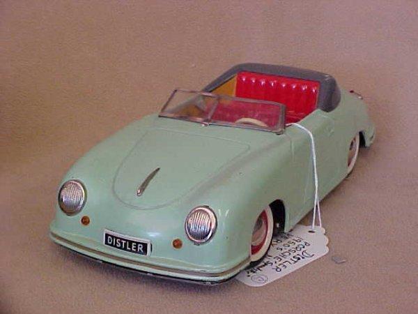 """57: Distler Porsche """"Speedster"""" 1950's new in box ve"""