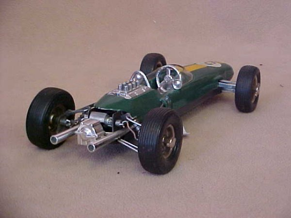 65: Schuco #1071 Lotus Formula 1 race car w/box. - 2