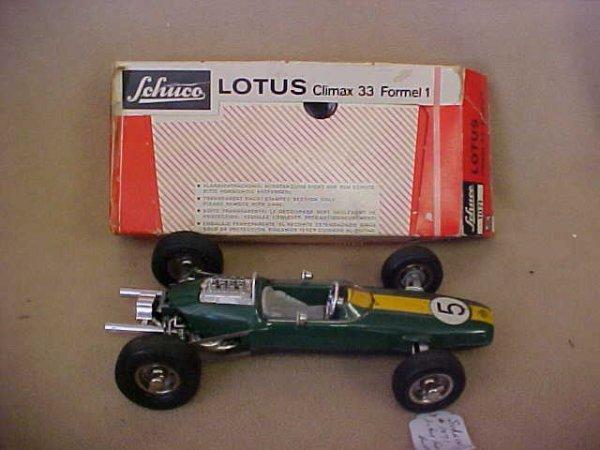 65: Schuco #1071 Lotus Formula 1 race car w/box. - 4
