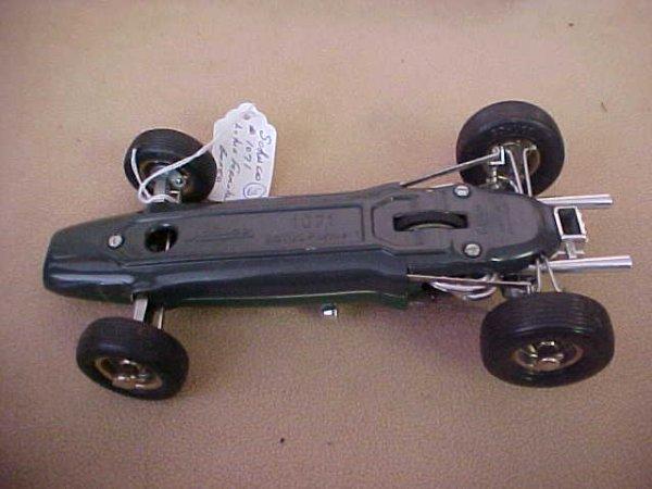 65: Schuco #1071 Lotus Formula 1 race car w/box. - 5