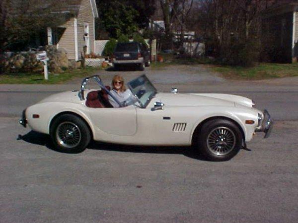 118: 1983 Replica Ford 1966 Shelby Cobra.  Aurora Cobra