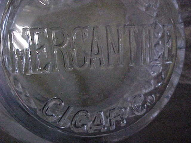 188: F.R. Rice Mercantile Cigar Co. glass store jars. - 4