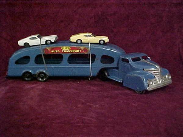 1105: 1930s Marx Deluxe Auto Transport
