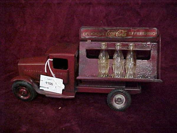 1106: 1930s original Coca Cola truck