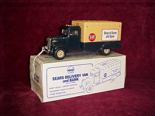 1109: Sears Delivery truck Bank