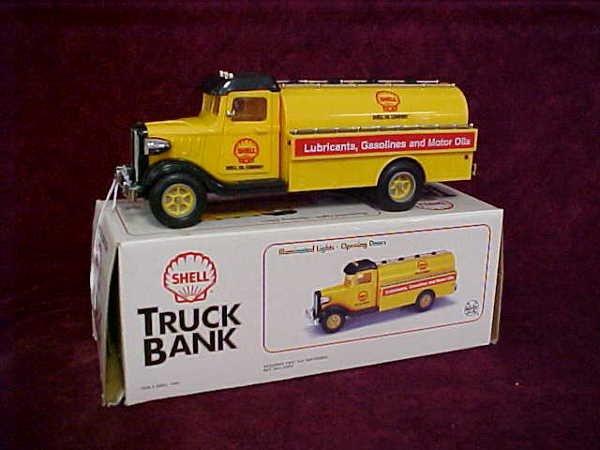 "1110: marx ""Shell"" truck bank"
