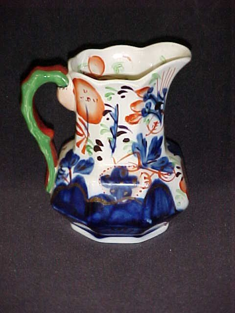 4: A Allertons small porcelain hand decorated pitcher.