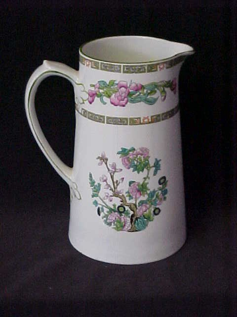 6: Myott.son & Co. England Hand decorated pitcher 1800'