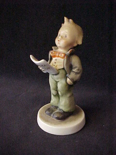 "16: Hummel figurine boy. Marked. 5""tall"
