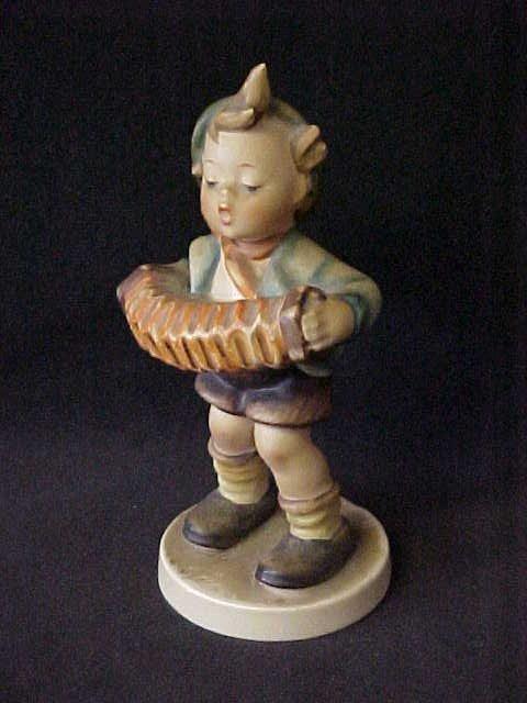 "18: Accordian boy Hummel figurine 5""tall."