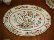54: Johnson Bros. England Indian Tree china dinnerware.
