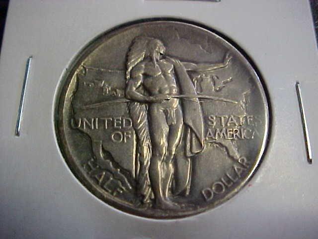 100: 1926 Oregon trail comm half dollar.
