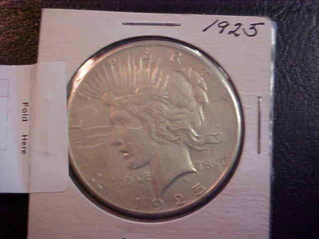26: (16) 1925 Liberty Silver dollar