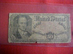 1817-1825 50 Cent Fractional Note