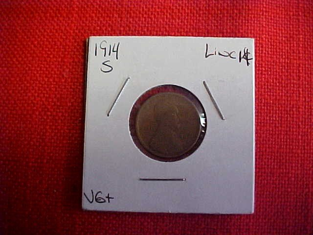 108: 1914 S Lincoln Penny