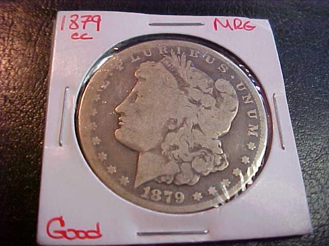 115: 1879 Carson City Morgan Dollar