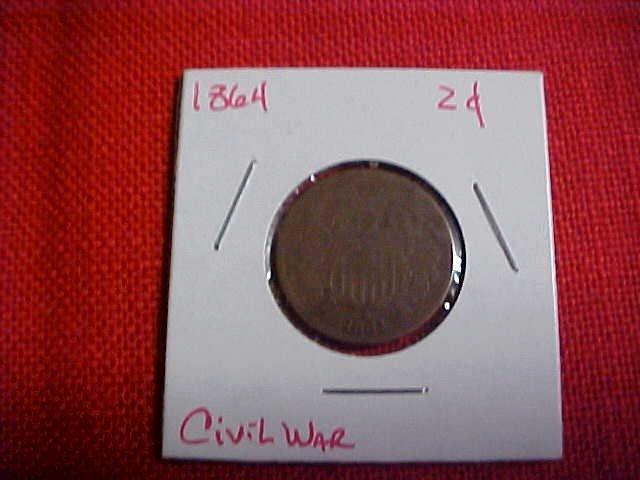 120: 1864 Civil War 2 Cent