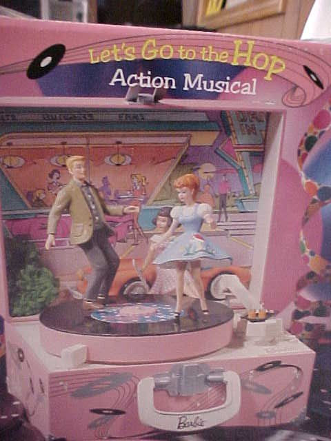 267: Barbie Let's Go To The Hop Music Box - 3