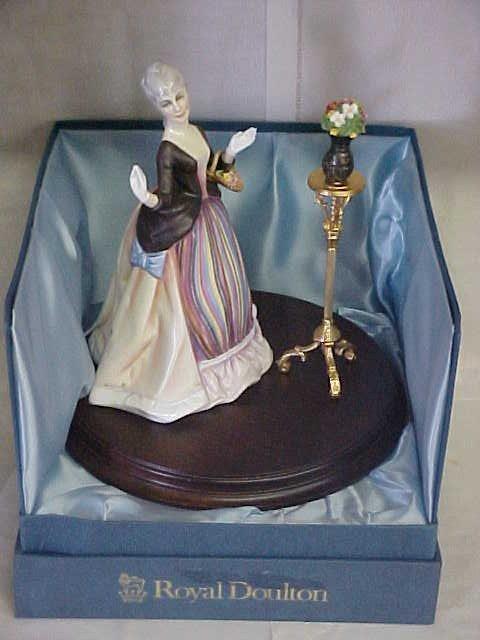 "307: Rare 6 pc Royal Doulton "" Gentle Arts Collection""."