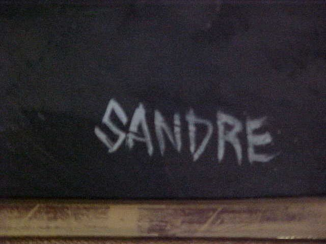 341: Signed Painting By Sandre - 2