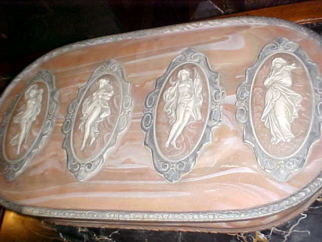 12: Large pink Nocla dresser box from Prince Faisal est - 2