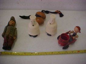 10: Lot of 6 misc toys & misc items.