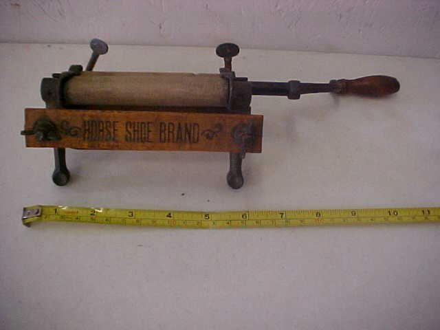 4: Rare American Wringer co. miniature washer ringer.