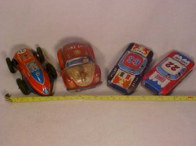 19: Lg Lot of Early Tin Cars