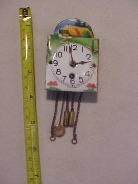 20: Early Porcelain Clock Made in Germany