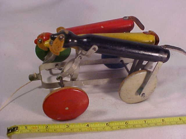 26: Early Wooden Pull Toy