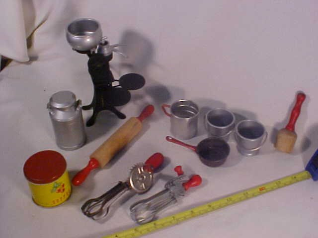 27: Lg Lot of Early Kitchen Utensils