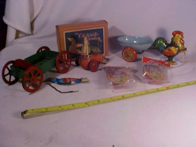 34: Lot of Early Misc. Tin Toys