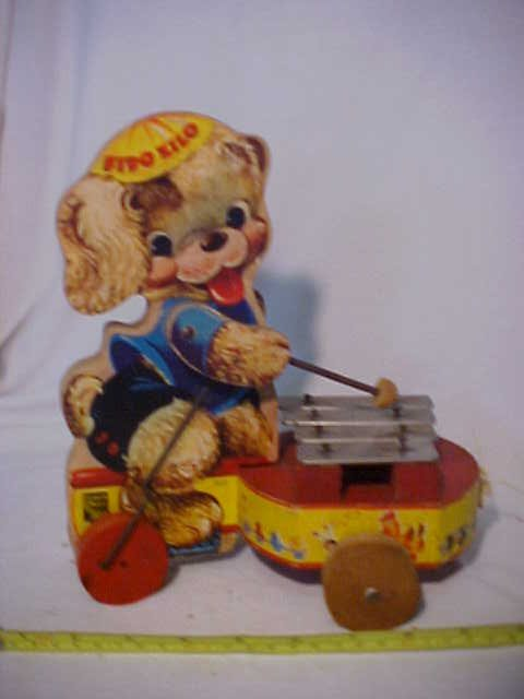 41: Old Fisher Price Fido Zilo
