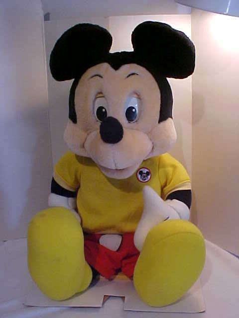 """137: """"Talking Mickey Mouse"""" doll with original box - 2"""