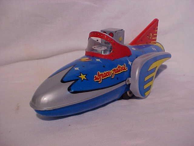 """6: Tin Litho """"Space Patrol"""" Toy"""
