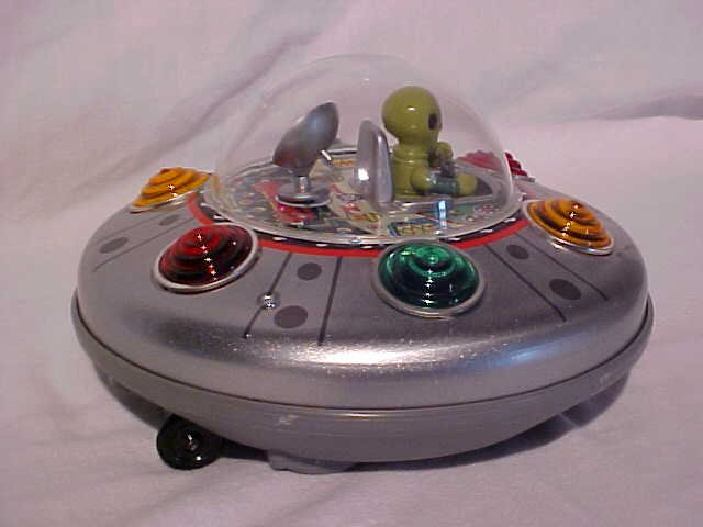 "13: Tin/Plastic ""Mars Explorer"" Toy"