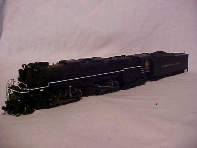 "150: HO scale ""1633 Chesapeake & Ohio"" model train engi"