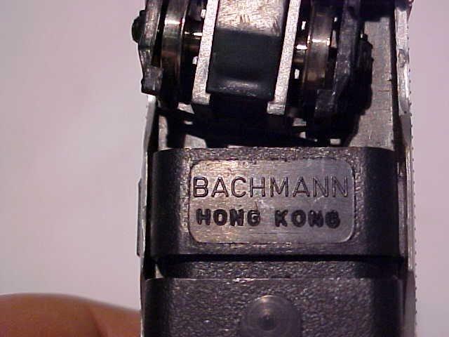 """162: Bachmann """"Santa Fe 307"""" model train engine - 4"""