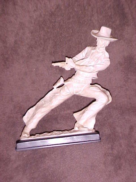 1: Italy made Cowboy statue signed Charles Serquya & So