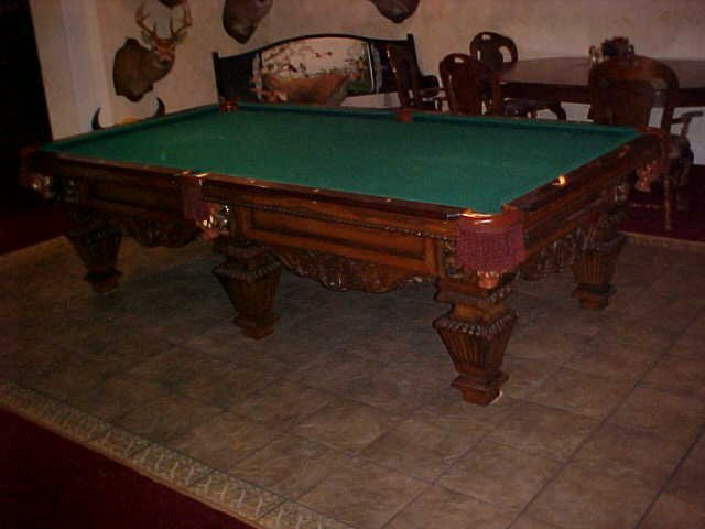 123: Rosewood Peter Vitalie Co. Pool Table