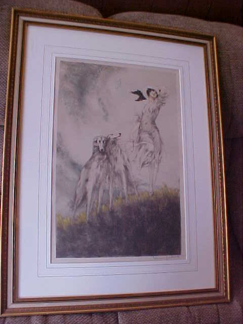 "600: Original Louis Icart signed ""Joy Of Life""."