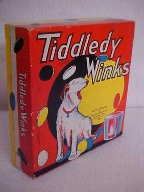 "7: Milton Bradley ""Tiddley Winks"" game"