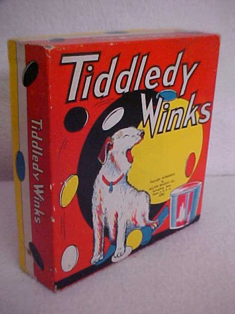 "7: Milton Bradley ""Tiddley Winks"" game"